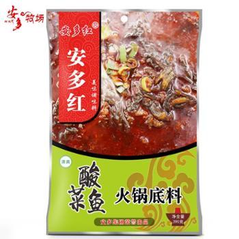 安多红 酸菜鱼火锅底料 390g