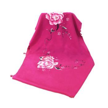 刺绣披肩(手工刺绣传承文化)