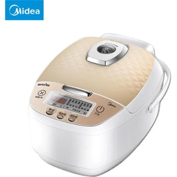 美的电饭煲HF40C6-FS IH加热家用4L智能预约
