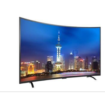 电视机65寸4K曲面液晶电视高清智能WIFI网络