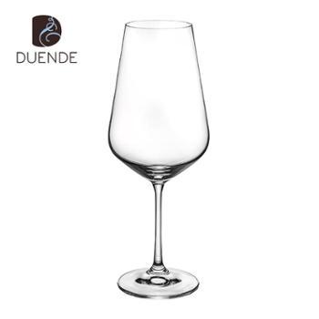 DUENDE红酒杯勃艮第杯波尔多杯家用红酒杯550ml/个