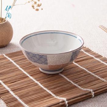 伊陶日本碗进口碗日式家居饭碗汤面碗多用家用碗/个