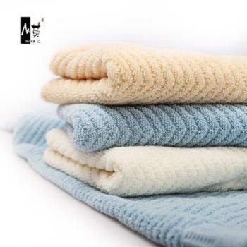 3条装莫二毛巾家居生活纯棉洗脸家用全棉