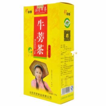 双营黄金牛蒡红枣茶140克/盒