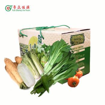 连州粤北山区居家新鲜蔬果套餐12 斤装