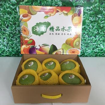 海南澳芒新鲜大芒果精品10斤礼盒装