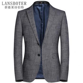 莱诗伯特男式西装休闲西装男青年韩版西服修身西装休闲西装男士西装