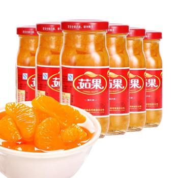 茹果橘子罐头6瓶