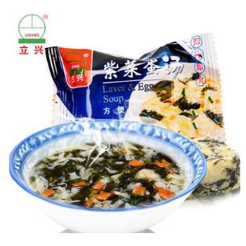 立兴冻干紫菜蛋汤8gx40包
