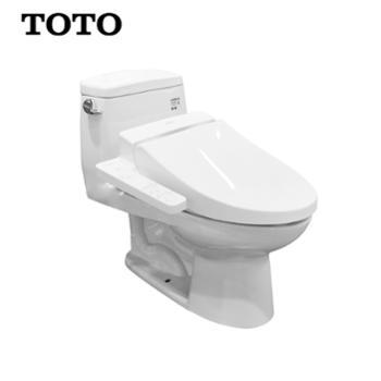 【烘干除臭】【便座加热】浴室卫浴卫生间智能马桶坐便器组合套餐CW854SB+TCF6631CS