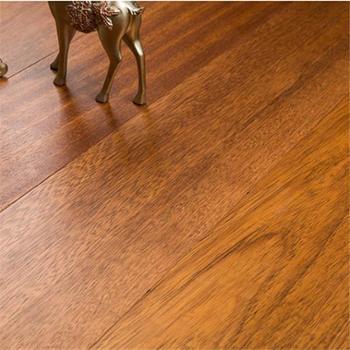 欢韵纯实木地板印茄木实木锁扣1米8大板可用地热原木素色1㎡