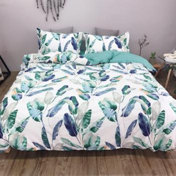 2019新品ins小清新 公主风 全棉床上床品四件套 被套床单枕套四件套