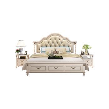 实木床1.8米双人床欧式床公主床1.5米现代简约
