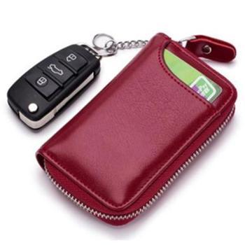 钥匙包多功能汽车拉链通用男士零钱包手拿女士家用锁匙包可放卡CL-950