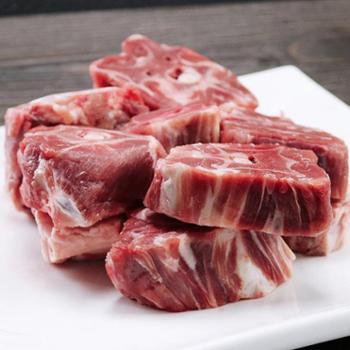 稻谷泉羊蝎子新鲜脊骨羊肉火锅农家自散养美味羔羊肉2.5斤