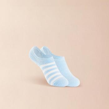 网易严选 女式绒绒羽毛纱质感柔软船袜