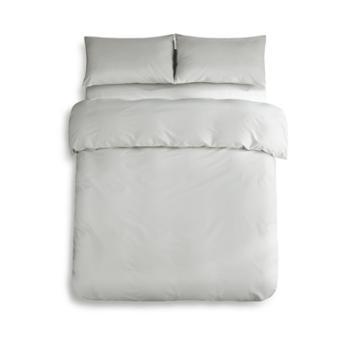 京东京造 全棉纯色件套 床上四件套纯棉床单被套枕套