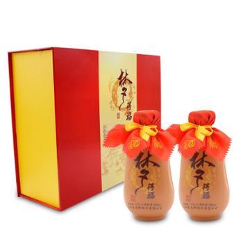 梦得福蜂蜜酒500mlx2瓶礼盒装蜂蜜枸杞麦曲液态发酵蜂蜜酒
