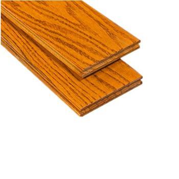 伐木时光 番龙眼 黄花梨色 纯实木地板