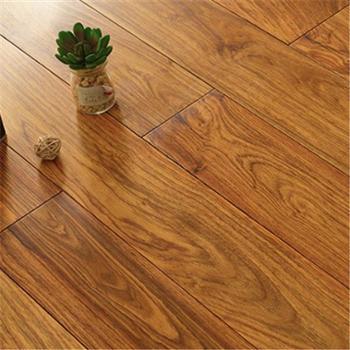 木郎府纯实木地板南美花梨实木可用地热