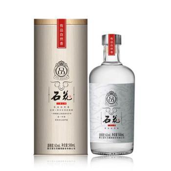 石花 品酒42度 生态三香型白酒 礼盒装500mL单瓶