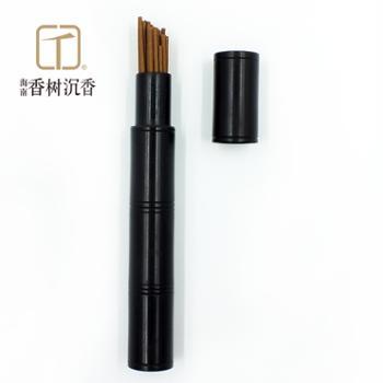 海岛香树|沉香线香熏香Ⅲ|黑檀木管10.5cm
