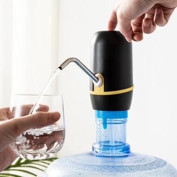 美厨 电动抽水器桶装水抽水机家用饮水器黑色 MCPJ008