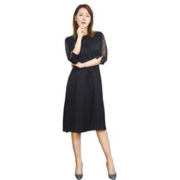 齐菲却女款休闲连衣裙GF206