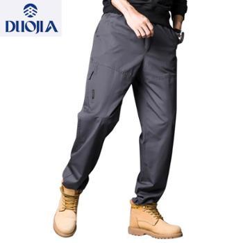 多佳男款时尚工装纯棉长裤110196