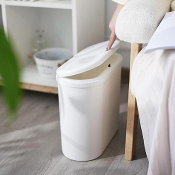 利临简约欧式时尚多功能按压式垃圾桶家用客厅垃圾桶