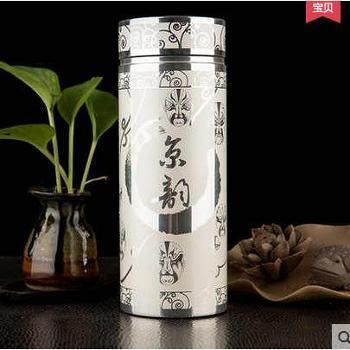 捷夫口杯创意高档银杯内胆镀银真空保温礼品杯 CTYB-005