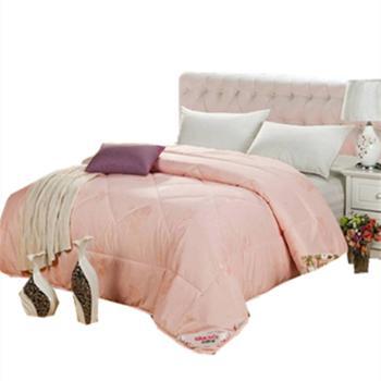 鸿顶 床上用品新款被子羊毛被 100%羊毛