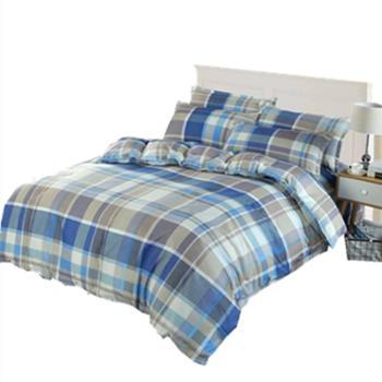鸿顶 床上用品四件套 精纺绒棉