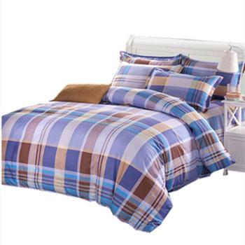 鸿顶 床上用品四件套 棉绒套装