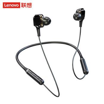 联想/lenovo 无线蓝牙耳机运动挂脖式XE66