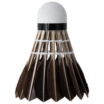 deli得力黑色羽毛球12只装F2204