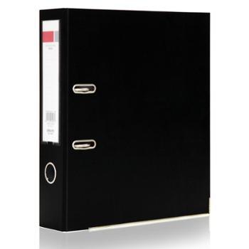 得力(deli)5481A4/3英寸PVC快劳夹A4黑色单只装