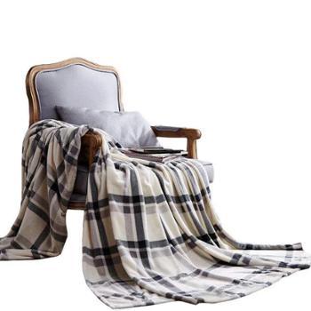 太湖雪 太湖雪暖绒毯 150*200cm 冰岛暖绒面料 爱丁堡 保暖透气舒适