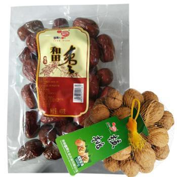 【肴之缘】肴之缘贵州山区核桃+新疆和田大枣 贵州特产美食
