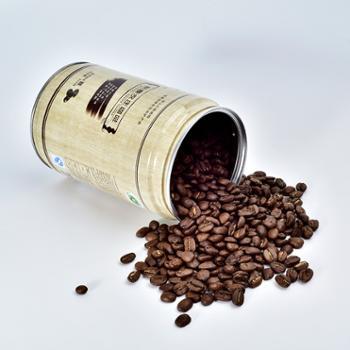 新寨云南小粒咖啡豆罐装铁毕卡咖啡豆蓝山风味250g