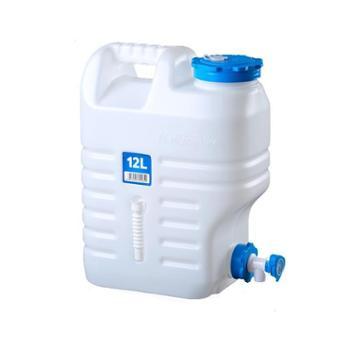 NH户外水桶家用储水桶带龙头PE食品级饮用纯净水桶车载塑料储水箱