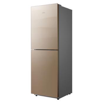 美的(Midea)249升风冷无霜冷藏冷冻家用两门双门冰箱BCD-249WGM格调金