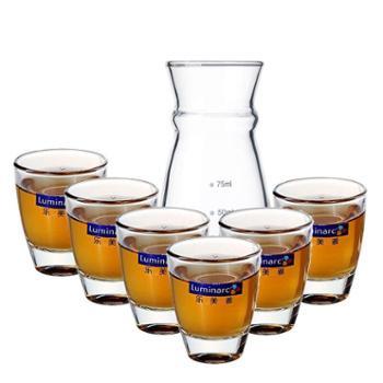 乐美雅烈酒杯50ml厚底6支装+分酒器