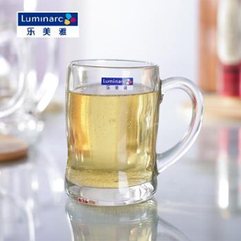 """乐美雅班尼把杯450ml玻璃杯啤酒杯15710(2个装"""")"""