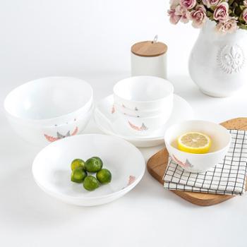 乐美雅迪瓦丽凝霜系列玻璃餐具10件礼盒套装