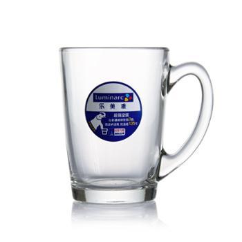 乐美雅清晨钢化玻璃把杯320ML-G2370