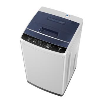 海尔/Haier8公斤大容量洗衣机全自动家用小型脱水波轮EB80M009