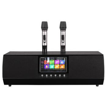 Anonsuo阿隆索点歌系统一体音箱KTVmusic双无线麦克风