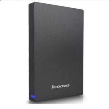 联想/lenovoF309移动硬盘USB3.01T1000G高速2.5寸商务硬盘