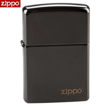 ZIPPO防风打火机24756ZL黑冰